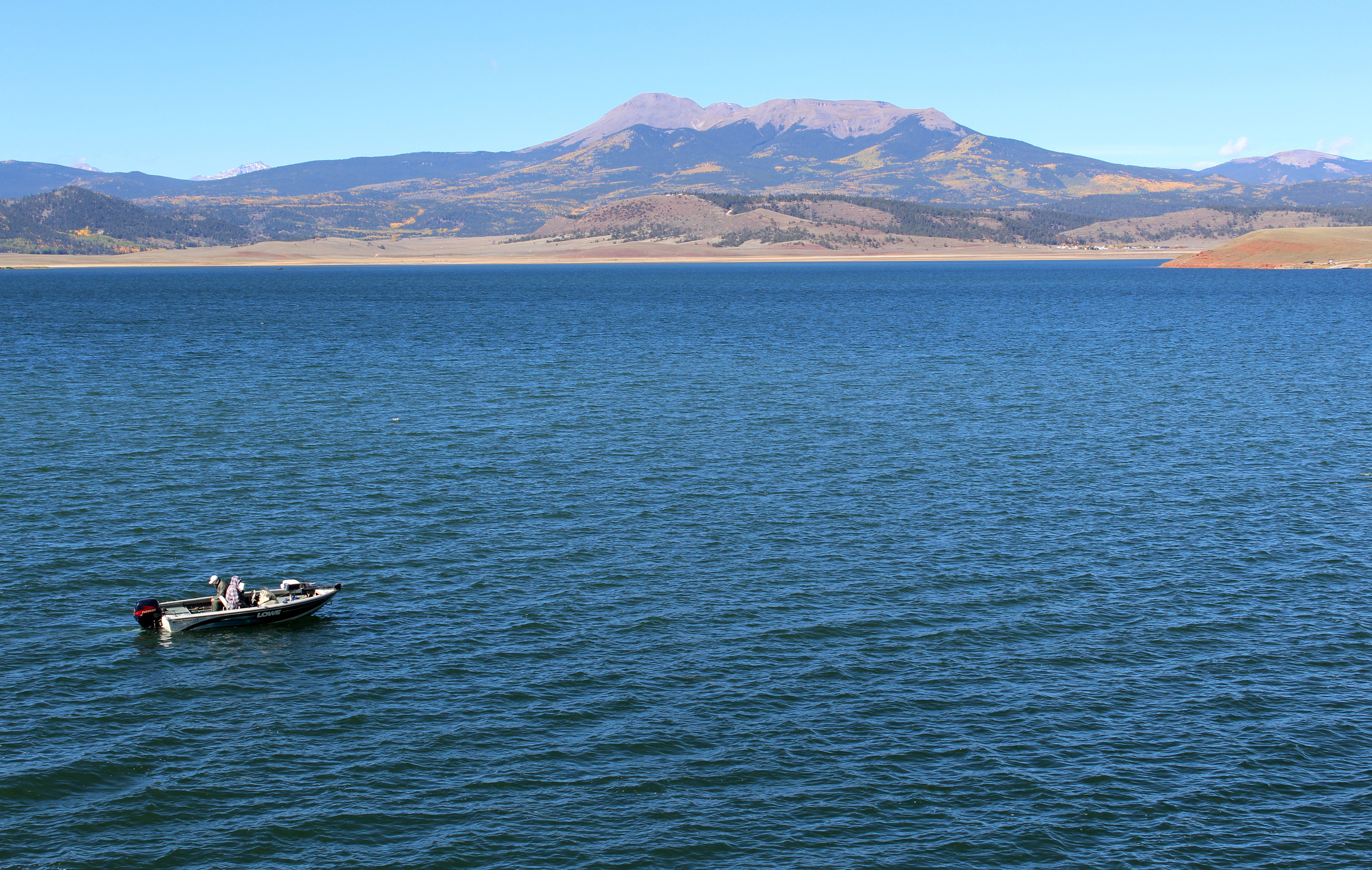 Colorado land with panoramic mountain views frontier for Antero reservoir fishing